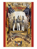 National Guard Half Pounds Tobacco Posters by Major & Kanpp, Sarony
