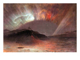 Aurora Borealis Prints by Frederic Edwin Church