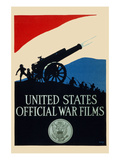 United States Official War Films Art by  U.S. Gov't