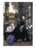 A Widow Prints by James Tissot