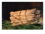 Asparagus Posters by Édouard Manet