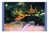 Fatata Te Miti Poster by Paul Gauguin