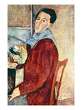 Self Portrait Print by Amedeo Modigliani