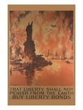Bond Poster Seeking Loans to Support World War I Prints