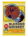 River Bank Blended Whiskey Poster