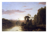 La Magdalena Print by Frederic Edwin Church