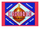 E. Rosello Valencia Onions Print