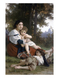 Rest Posters by William Adolphe Bouguereau