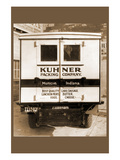 Kuhner Packing Company Delivery Truck - Rear View Prints