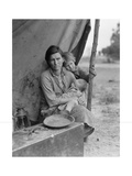 Migrant Agricultural Worker's Family Kunst af Dorothea Lange