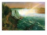 Niagara Falls Prints by Albert Bierstadt