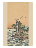 View of Shichirigahama Prints by Buncho Tani