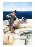Silver Favorites Premium Giclee Print by Sir Lawrence Alma-Tadema