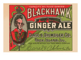 Blackhawk Ginger Ale Posters