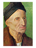 Portrait of Michael Wolgemut Prints by Albrecht Dürer