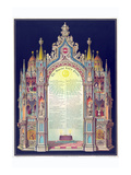 Symbols -Masonic Lord's Prayer Print by  Huncke