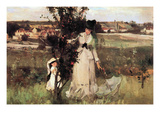 Hide-And-Seek Premium Giclee Print by Berthe Morisot