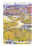 Union Square in Spring Posters by Childe Hassam