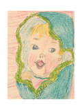 Baby Girl Art by Norma Kramer