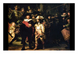 The Night Watch Detail Posters by  Rembrandt van Rijn