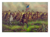 Rough-Riders, Col. Theodore Roosevelt, U.S.V. Commander Prints