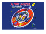 Flying Saucer 8 Premium Giclee Print