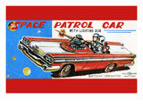 Space Patrol Car Posters