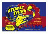 Atomic Train of the Future Print