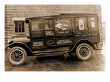 Harry H. Redfearn and Co. Delivery Truck - Good Luck Evaporated Milk and Cheese Prints