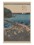 Opening Celebration of Benzaiten Shrine at Enoshima in Soshu Prints by Ando Hiroshige