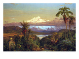 Cayambe, Ecuador Posters by Frederic Edwin Church
