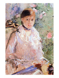 Summer (Young Woman at the Window) Posters by Berthe Morisot