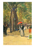 Fifth Avenue and Washington Square Posters by Childe Hassam