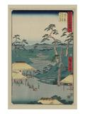 Hodogaya Posters by Ando Hiroshige