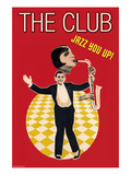 The Jazz Club Art by Sara Pierce