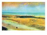 Beach at Low Tide Prints by Edgar Degas