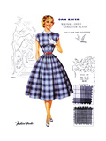 Dan River Wrinkl-Shed Gingham Plaid Posters by  Fashion Frocks