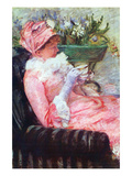 The Cup of Tea Kunstdrucke von Mary Cassatt