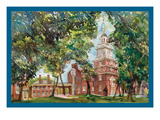 Independence Hall Premium Giclee Print by Noel Miles