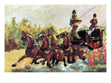 Count Alphonse De Toulouse-Lautrec Arte por Henri de Toulouse-Lautrec