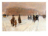 Urban Fairy Tale Print by Childe Hassam