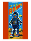 Roby Robot Prints