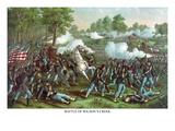 Battle of Wilson's Creek or the Battle of Oak Hills Planscher