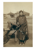 Oglala Sioux Plenty Horse Next to Cannon Posters by John C.H. Grabill
