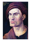 Portrait of a Young Man Kunst von Albrecht Dürer