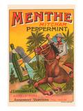 Menthe Peppermint Prints