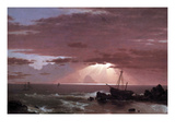 The Wreck Posters by Frederic Edwin Church