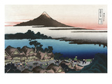 Dawn at Isawa in Kai Province Poster von Katsushika Hokusai