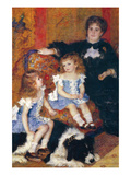 Madame Charpentier and Her Children Premium Giclee Print by Pierre-Auguste Renoir