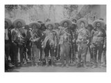 Pancho Villa and Staff Art
